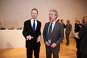SIR NICHOLAS SEROTA; CHRIS STEVENS; CURATOR OF THE EXHIBITION,  Henry Moore, Tate Britain. London. 22 February 2010