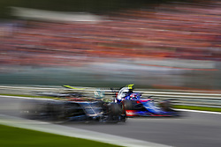 September 1, 2019, Spa-Francorchamps, Belgium: Motorsports: FIA Formula One World Championship 2019, Grand Prix of Belgium, ..#20 Kevin Magnussen (DEN, Rich Energy Haas F1 Team), #10 Pierre Gasly (FRA, Red Bull Toro Rosso Honda) (Credit Image: © Hoch Zwei via ZUMA Wire)