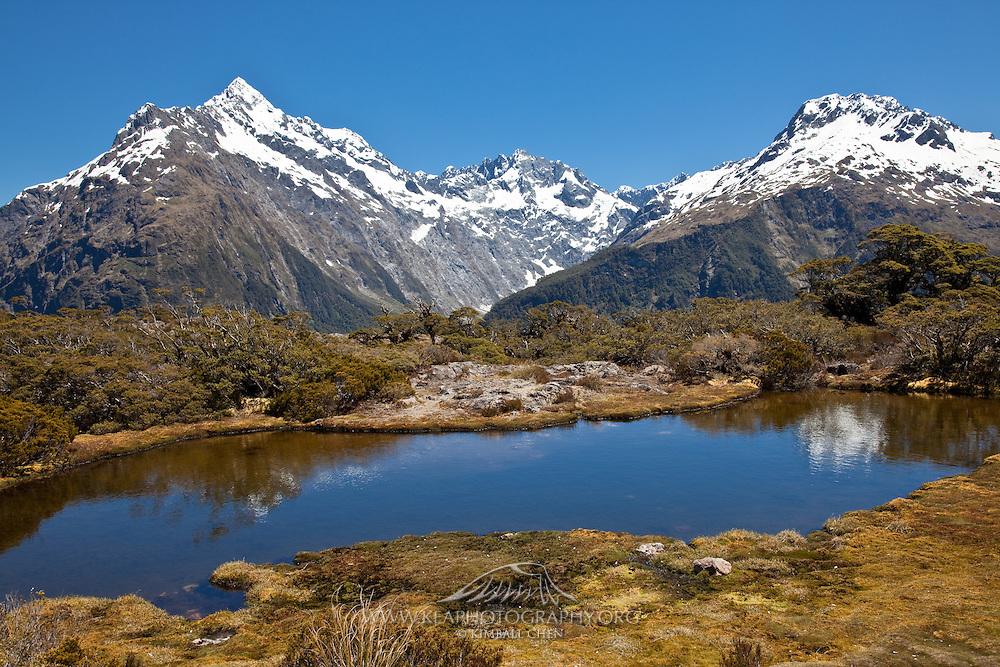 Key Summit, Fiordland, Routeburn, New Zealand