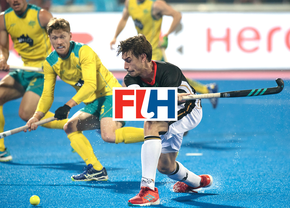 Odisha Men's Hockey World League Final Bhubaneswar 2017<br /> Match id:05<br /> 05 GER v AUS (Pool B)<br /> Foto: Backhand Forian Fuchs (Ger).<br /> WORLDSPORTPICS COPYRIGHT FRANK UIJLENBROEK