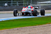 2012 British F3 International Series.Donington Park, Leicestershire, UK.27th - 30th September 2012.Felix Serralles, Fortec Motorsport..World Copyright: Jamey Price/LAT Photographic.ref: Digital Image Donington_F3-18285