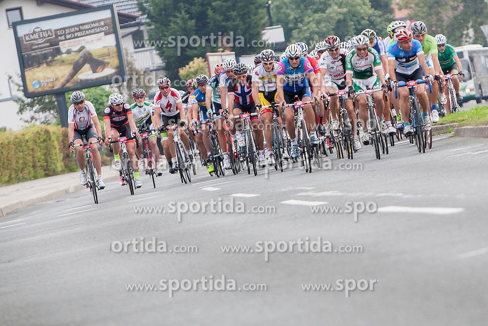 Cyclists during UCI amateur Road World Championship 2014 on August 31, 2014 in BTC City, Ljubljana, Slovenia. Photo by Urban Urbanc / Sportida.com