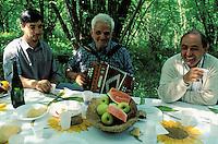 Shepherd - countryside lunch - Sardinia - Italy