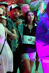 *NO WEB UNTIL 10AM PST 16TH APRIL PREMIUM EXCLUSIVE* The Weeknd packs on some PDA with Chantel Jeffries at Coachella. The happy, possibly new couple, were seen cuddling in the VIP area of the Coachella Music Festival. They hung out with friends and strolled holding on to each other and staying very close throughout the night. 14 Apr 2018 Pictured: The Weeknd and Chantel Jeffries. Photo credit: Marksmen / MEGA TheMegaAgency.com +1 888 505 6342