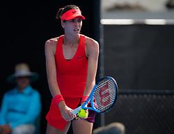 January 8, 2019 - Sidney, AUSTRALIA - Ajla Tomljanovic of Australia playing doubles at the 2019 Sydney International WTA Premier tennis tournament (Credit Image: © AFP7 via ZUMA Wire)
