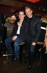 Left to right, Actor KEVIN ZEGERS and PATRICK COX at a party hosted by Camilla Al Fayed, Charlotte Stockdale and Patrick Cox in aid of the Evelina Children's Hospital Trust held at th Burlington Club, New Burlington Street, London on 12th December 2006.<br /><br />NON EXCLUSIVE - WORLD RIGHTS