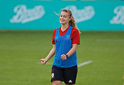 NEWPORT, WALES - Monday, September 2, 2019: Wales' Ella Powell during a training session at Rodney Parade ahead of the UEFA Women Euro 2021 Qualifying Group C match against Northern Ireland. (Pic by David Rawcliffe/Propaganda)