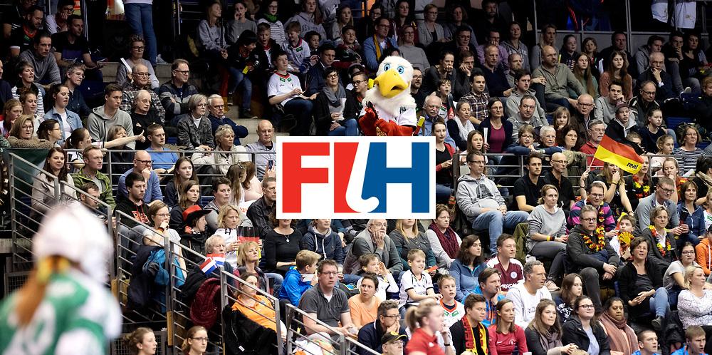 BERLIN - Indoor Hockey World Cup<br /> Semi-final: Belarus - Germany<br /> foto: Schlenzi.<br /> WORLDSPORTPICS COPYRIGHT FRANK UIJLENBROEK