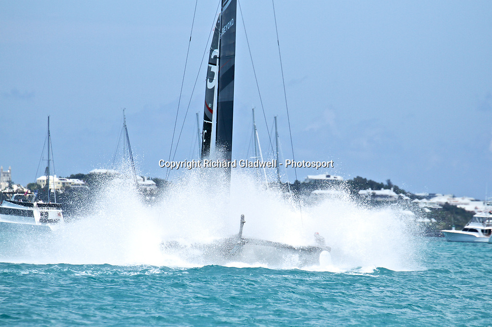 Race 8 - Land Rover BAR  - 35th America's Cup - Bermuda  May 27, 2017 . Copyright Image: Richard Gladwell / Sail World / www.photosport.nz