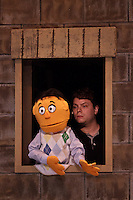 "Missouri Street Theatre presents ""Avenue Q,"" directed by Gino Patina & Dae Spering, at the Fairfield Center for the Creative Arts from October 21st to November 6th, 2011."
