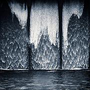 Wee detail from Carron Valley reservoir dam