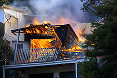 Wellington-Fire destroys Paramata house