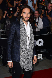 GQ Men of the Year Awards 2013.<br /> Russell Brand during the GQ Men of the Year Awards, the Royal Opera House, London, United Kingdom. Tuesday, 3rd September 2013. Picture by Nils Jorgensen / i-Images