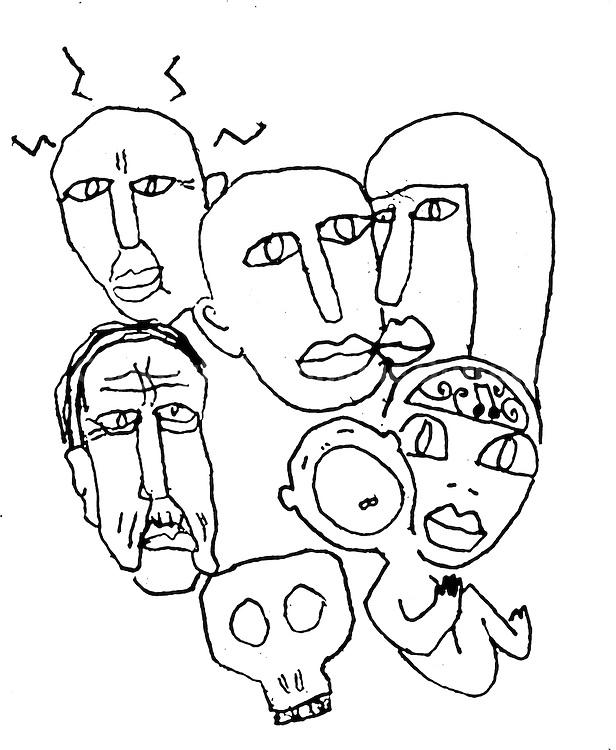 encre sur papier<br /> <br /> estampe num&eacute;rique num&eacute;rot&eacute;e, sur papier fine art Turner 20x30 cm : 51 euros<br /> autres formats : me consulter