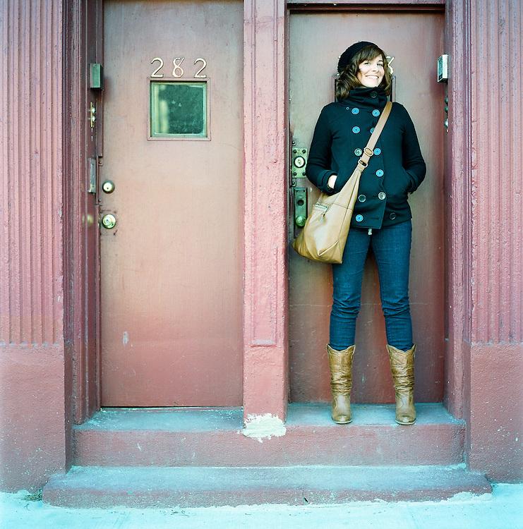 Girl in Brooklyn, New York. 2009