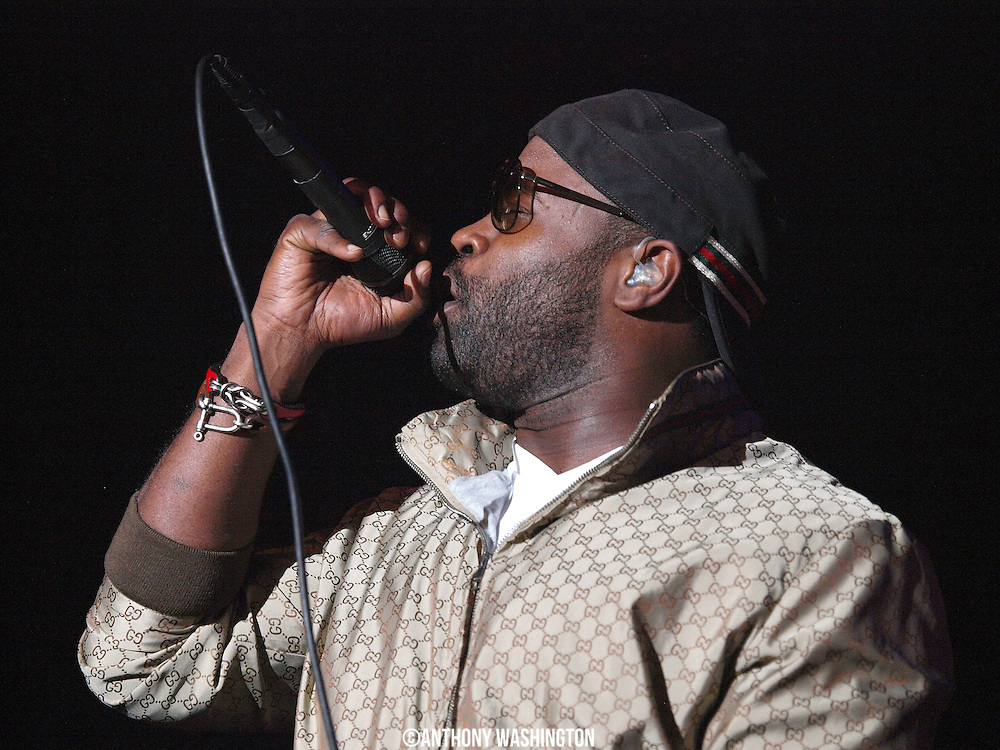 Black Thought of the group The Roots performs during Rock the Bells 2009 at Merriweather Post Pavilion in Columbia, MD on Sunday, July 12, 2009.