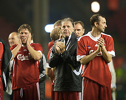 LIVERPOOL, ENGLAND - Thursday, May 14, 2009: Liverpool Legends' Mark Lawrenson during the Hillsborough Memorial Charity Game at Anfield. (Photo by David Rawcliffe/Propaganda)