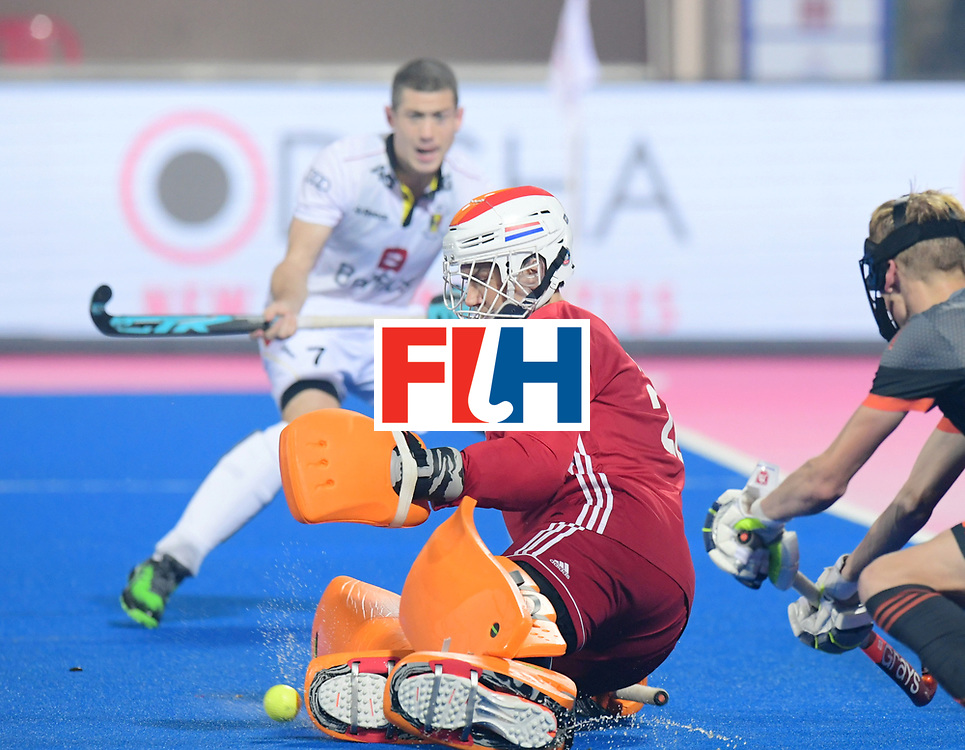 Odisha Men's Hockey World League Final Bhubaneswar 2017<br /> Match id:12<br /> Belgium v Netherlands<br /> Foto: keeper Sam van der Ven (Ned) <br /> COPYRIGHT WORLDSPORTPICS FRANK UIJLENBROEK