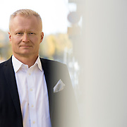 20141017 Helsinki Tommi Rytkönen, Nooa Säästöpankki, toimitusjohtaja. Kuva: Ismo Henttonen.