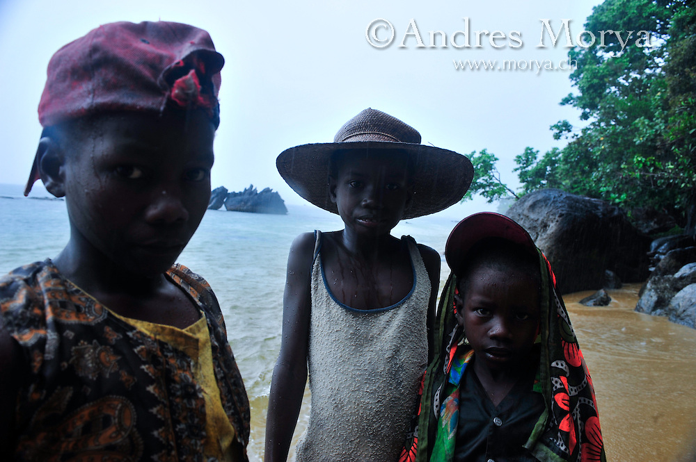 Malagasy family, Masoala, Madagascar Image by Andres Morya