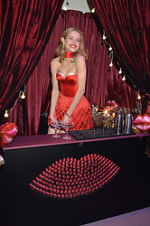 NATALIA VODIANOVA at 'The World's First Fabulous Fund Fair' in aid of the Naked Heart Foundation hosted by Natalia Vodianova and Karlie Kloss at The Roundhouse, Chalk Farm Road, London on 24th February 2015.