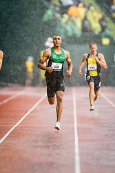 Ashton Eaton, Decathlon, 400 meters, on his way to setting world record at USA Olympic Trials