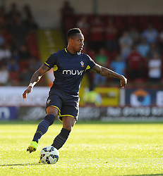 Southampton's Nathaniel Clyne - Photo mandatory by-line: Joe Meredith/JMP - Mobile: 07966 386802 21/07/2014 - SPORT - FOOTBALL - Swindon - County Ground - Swindon Town v Southampton