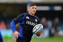 Darren Atkins of Bath Rugby looks on during the pre-match warm-up - Mandatory byline: Patrick Khachfe/JMP - 07966 386802 - 22/09/2018 - RUGBY UNION - The Recreation Ground - Bath, England - Bath Rugby v Northampton Saints - Gallagher Premiership Rugby