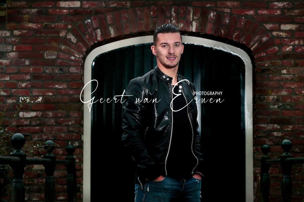 01-12-2016 VOETBAL:JORDY CROUX:WILLEM II<br /> <br /> Jordy Croux de rechtsbuiten van Willem II shoot <br /> <br /> Foto: Geert van Erven