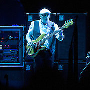 "WASHINGTON, DC - April 9th  2013 -  John McVie of Fleetwood Mac performs at the Verizon Center in Washington, D.C. during the band's 2013 World Tour. Fleetwood Mac, touring for the first time since 2009, is including two new songs in their setlist, ""Sad Angel"" and ""Without You."" (Photo by Kyle Gustafson/For The Washington Post)"