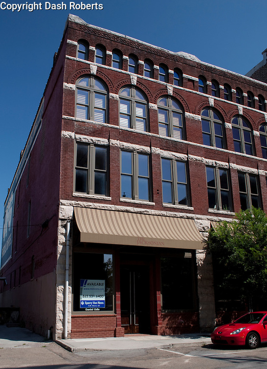 The Jacksonian Building located on Jackson Street in the Old City portion of Knoxville, Tennessee.  This is a mixed use residential/retail building.