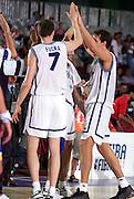 Eurobasket Turchia 2001 <br /> Italia-Bosnia<br /> Gregor Fucka, Denis Marconato
