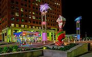Fayetteville Street, City Plaza, Raleigh, North Carolina