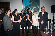 Yuri Pattison; Cecile B. Evans, Neil Tennant; Janet Street-Porter; Amanda Levete; Ben EvansDINNER TO CELEBRATE THE ARTISTS OF FRIEZE PROJECTS AND THE EMDASH AWARD 2012 hosted by ANDREA DIBELIUS founder EMDASH FOUNDATION, AMANDA SHARP and MATTHEW SLOTOVER founders FRIEZE. THE FORMER CENTRAL ST MARTIN'S SCHOOL OF ART AND DESIGN, SOUTHAMPTON ROW, LONDON WC1. 11 October 2012