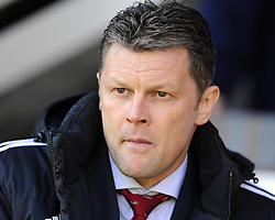 Bristol City manager, Steve Cotterill  - Photo mandatory by-line: Joe Meredith/JMP - Mobile: 07966 386802 12/04/2014 - SPORT - FOOTBALL - Walsall - Banks' Stadium - Walsall v Bristol City - Sky Bet League One