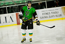 Gregor Poloncic of Olimpija during Humanitarian hockey derby of legends between Olimpija and Jesenice, on 7 March 2014, in Hala Tivoli, Ljubljana, Slovenia. Photo by Urban Urbanc / Sportida.com