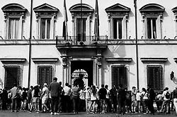 Palazzo Chigi, headquarters of the Italian government in Rome on 18 September 2018. Christian Mantuano / OneShot