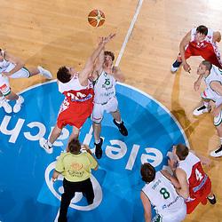 20090809: Basketball - Slovenia vs Russia, Friendly match