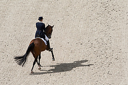Mary Hanna, (AUS), Sancette - Grand Prix Team Competition Dressage - Alltech FEI World Equestrian Games™ 2014 - Normandy, France.<br /> © Hippo Foto Team - Leanjo de Koster<br /> 25/06/14
