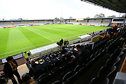 General view of the Pirelli Stadium during the EFL Sky Bet League 1 match between Burton Albion and Southend United at the Pirelli Stadium, Burton upon Trent, England on 2 October 2018.