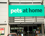 Pets at Home shop, Sudbury, Suffolk, England