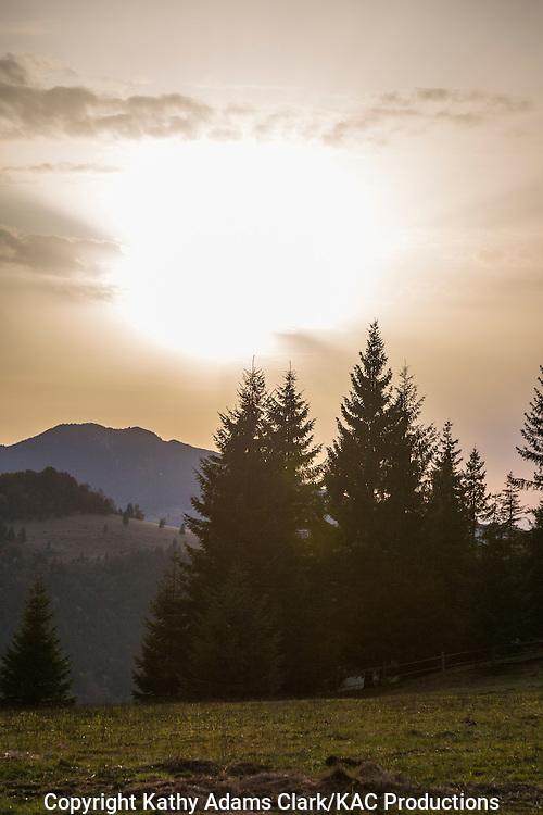 Piatra Fantanele, Romania, mountains.