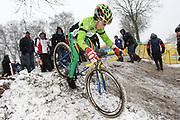 NEDERLAND / NETHERLANDS / PAYS BAS /HOOGERHEIDE / CYCLING / WIELRENNEN / CYCLISME / CYCLOCROSS / VELDRIJDEN / WERELDBEKER / COUP DU MONDE / WORLD CUP / ESPOIRS / BELOFTEN / U23 / THIBAU NYS /