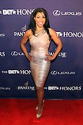 January 12, 2013- Washington, D.C- Celebrity Fitness Instructor Jeanette Jenkins attends the 2013 BET Honors Red Carpet held at the Warner Theater on January 12, 2013 in Washington, DC. BET Honors is a night celebrating distinguished African Americans performing at exceptional levels in the areas of music, literature, entertainment, media service and education. (Terrence Jennings)