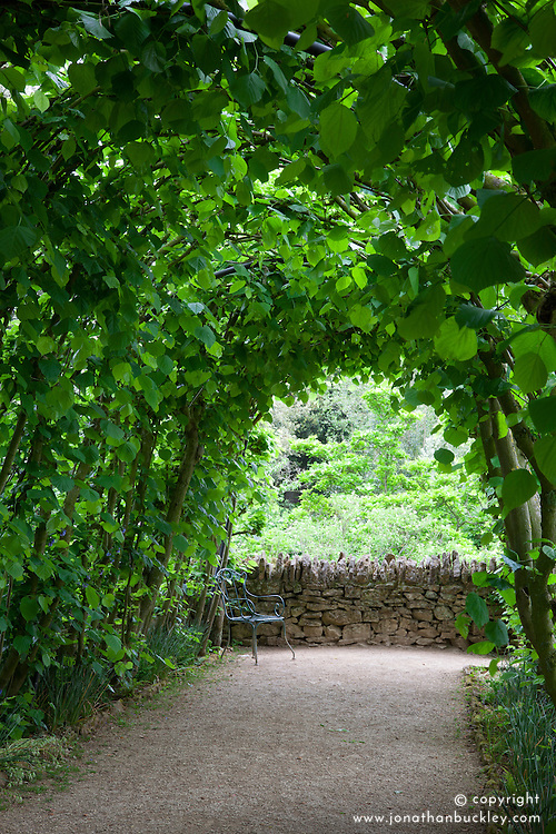 The Lime Bower at Hidcote Manor Garden