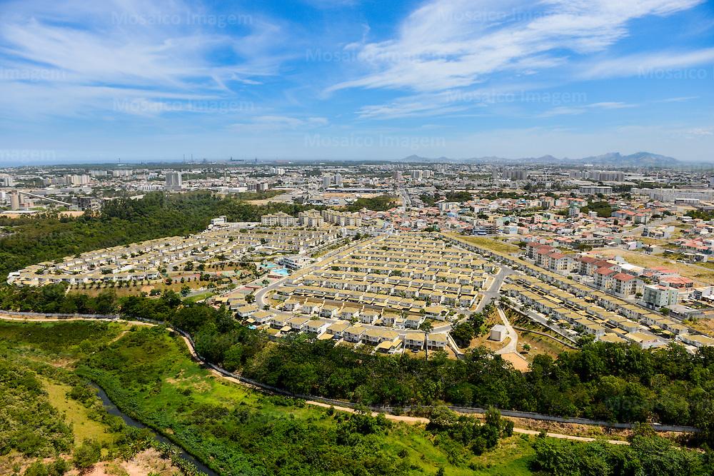 Brasil - Serra - Espirito Santo - Vista Aerea da Cidade de Serra - Foto: Gabriel Lordello/ Mosaico Imagem