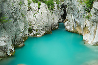 River Lepenjica<br /> Triglav National Park, Slovenia<br /> June 2009