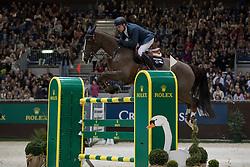 Duguet Romain, (FRA), Quorida de Treho<br /> Coupe de Genève<br /> CHI de Genève 2016<br /> © Hippo Foto - Dirk Caremans<br /> 10/12/2016