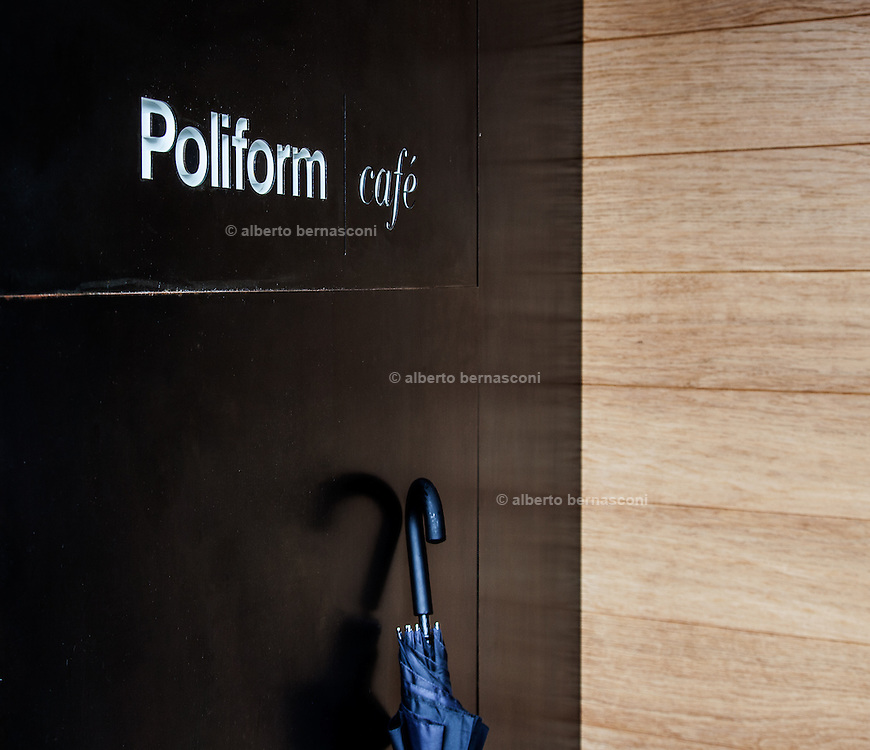 Inverigo, Poliform Cafè inside the Poliform Lab area. a quite and nicecafè and freastaurant for sellers and buyers