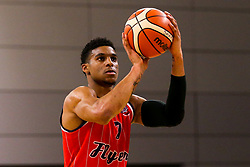 Justin Gray of Bristol Flyers - Photo mandatory by-line: Robbie Stephenson/JMP - 29/03/2019 - BASKETBALL - English Institute of Sport - Sheffield, England - Sheffield Sharks v Bristol Flyers - British Basketball League Championship